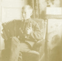 boy with accordion image